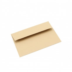 Basis Premium Envelope A6 [4-3/4x6-1/2] Light Brown 50/pkg