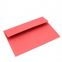 Basis Premium Envelope A7[5-1/4x7-1/4] Red 250/box