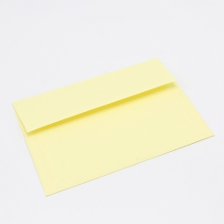 Basis Premium Envelope A7[5-1/4x7-1/4] Light Yellow 250/box