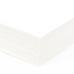 Carbonless CF White 105lb Tag 8-1/2x11 250/pkg