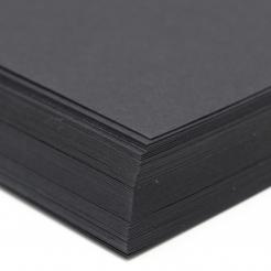 CLOSEOUTS Environment Cosmos Black 80lb Cover 8-1/2X11 100/PKG