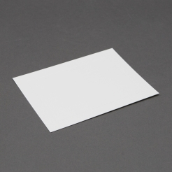 Platinum Lee size White Panel Card 5-1/8x7 250/box