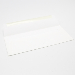 SAVOY Envelope Bright White #10 80lb Square Flap 50/pkg