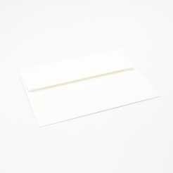 SAVOY Brilliant White Envelope A-1 80lb Square Flap 50/pkg