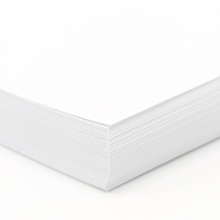 Strathmore Writing Cover Brt White Wove 8-1/2x11 88lb 125pkg