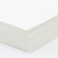 Strathmore Writing Cover Brt White Laid 8-1/2x11 88lb 125pkg