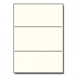 Tri-Fold Brochure 8-1/2x11 67lb Exact Cream 250/pkg