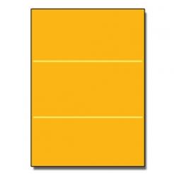 Tri-Fold Brochure 8-1/2x11 67lb Exact Gold 250/pkg