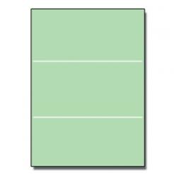 Tri-Fold Brochure 8-1/2x11 67lb Exact Green 250/pkg