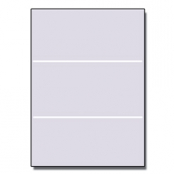 Tri-Fold Brochure 8-1/2x11 67lb Exact Gray 250/pkg