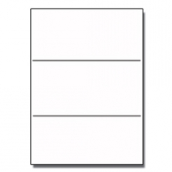 Tri-Fold Brochure 8-1/2x11 65lb Classic Crest Nat White 100pkg