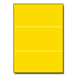 Tri-Fold Brochure 8-1/2x11 65lb Astro Solar Yellow 250/pkg