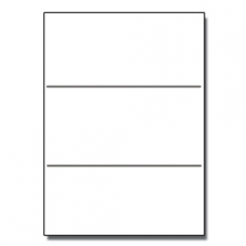 Tri-Fold Brochure 8-1/2x11 67lb Exact White 250/pkg