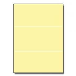Tri-Fold Brochure 8-1/2x11 67lb Exact Yellow 250/pkg