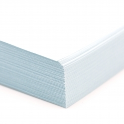 CLOSEOUTS Springhill Index Blue 110lb 8-1/2x11 250/pkg