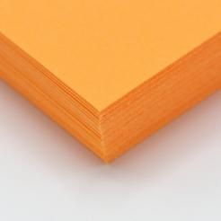 CLOSEOUTS HOTS Orange 65lb Cover 8-1/2x11 250/pkg