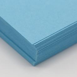 CLOSEOUTS HOTS Blue 65lb Cover 8-1/2x11 250/pkg