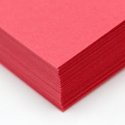 CLOSEOUTS HOTS Red 65lb Cover 8-1/2x11 250/pkg