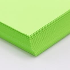 CLOSEOUTS HOTS Lime 65lb Cover 8-1/2x11 250/pkg