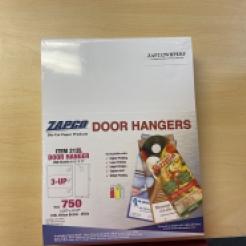 Door Hangers Pre-Perfed 8-1/2x11 3up 250/pkg