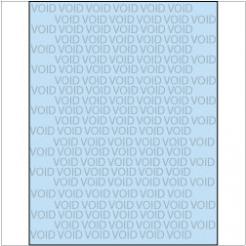 VOID if Copied Paper 8-1/2x11 24lb Blue-Tint 500/pkg