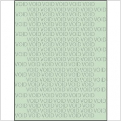 VOID if Copied Paper 8-1/2x11 24lb Green Tint 500/pkg