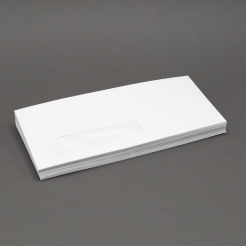 White Wove #8-5/8 24lb Window Envelope 500/box
