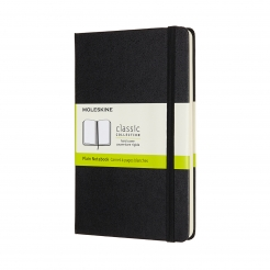 Moleskine Journal Black (Large Plain)