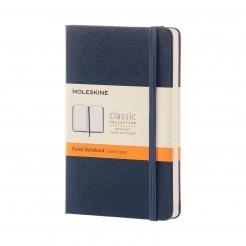 Moleskine Journal Sapphire Blue (Pocket Lined)