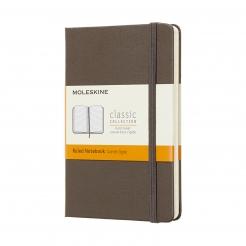 Moleskine Journal Earth Brown (Pocket Lined)