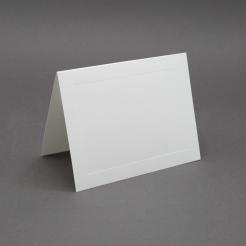 Crest 6 Baronial White Panel Foldover [6-1/4x9-1/4] 250/box