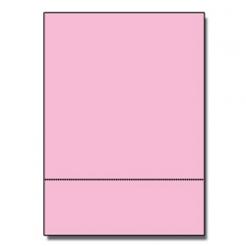 Perf at 3-1/2 Astro 65lb Cover Pulsar Pink 8-1/2x11 250/pkg