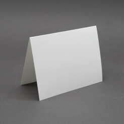 Crest 6 Baronial White Plain Foldover [6-1/4x9-1/4] 250/box