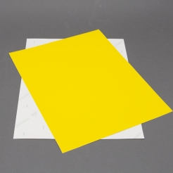 Astrobright Solar Yellow 8-1/2x11 Label Paper 100/pkg