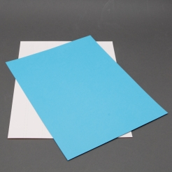 Astrobright Lunar Blue 8-1/2x11 Label Paper 100/pkg