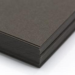 CLOSEOUTS Classic Linen Canyon Brown 100lb Cover 8-1/2x11 125/pkg