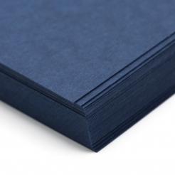 CLOSEOUTS Classic Laid Patriot Blue 80lb Cover 8-1/2x11 125/pkg