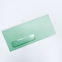 EarthChoice Window Envelope Green #10 24lb 500/box