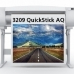 Sihl 3209 QuickSTICK Adh-Back Fabric7mil 50in x 100ft 2in/core 1/case