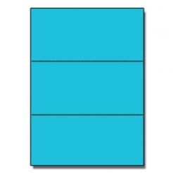 Perf Every 3-2/3 Astro 65lb Cover Lunar Blue 8-1/2x11 250/pk