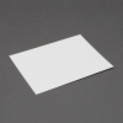 Crest 6 Baronial White Panel Card [4-5/8x6-1/4] 250/box
