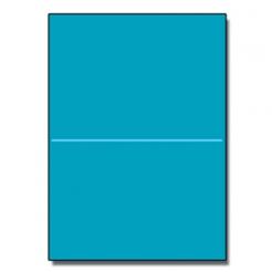 Half-fold Brochure 8-1/2x11 65lb Astro Celestial Blue 250/pk