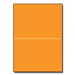 Half-Fold Brochure 8-1/2x11 65lb Astro Cosmic Orange 250/pkg