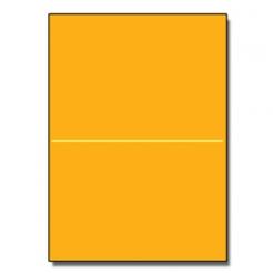 Half-Fold Brochure 8-1/2x11 67lb Exact Gold 250/pkg
