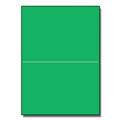 Half-Fold Brochure 8-1/2x11 65lb Astro Gamma Green 250/pkg
