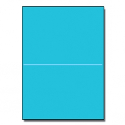 Half-Fold Brochure 8-1/2x11 65lb Astro Lunar Blue 250/pkg