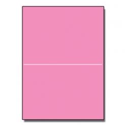 Half-Fold Brochure 8-1/2x11 65lb Astro Pulsar Pink 250/pkg