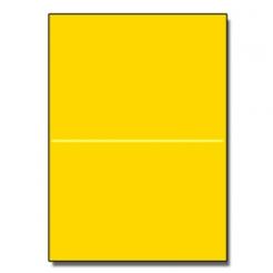 Perf at 5-1/2 Astro 65lb Cover Solar Yellow 8-1/2x11 250/pkg