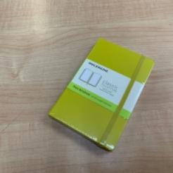 Moleskine Journal Dandelion Yellow (Pocket Plain - CLOSEOUT)