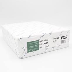 Cranes Crest Pearl White Wove 8-1/2x11 24lb 500/pkg